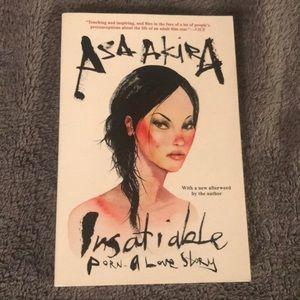 """Asa Akira """"Insatiable"""" book"""